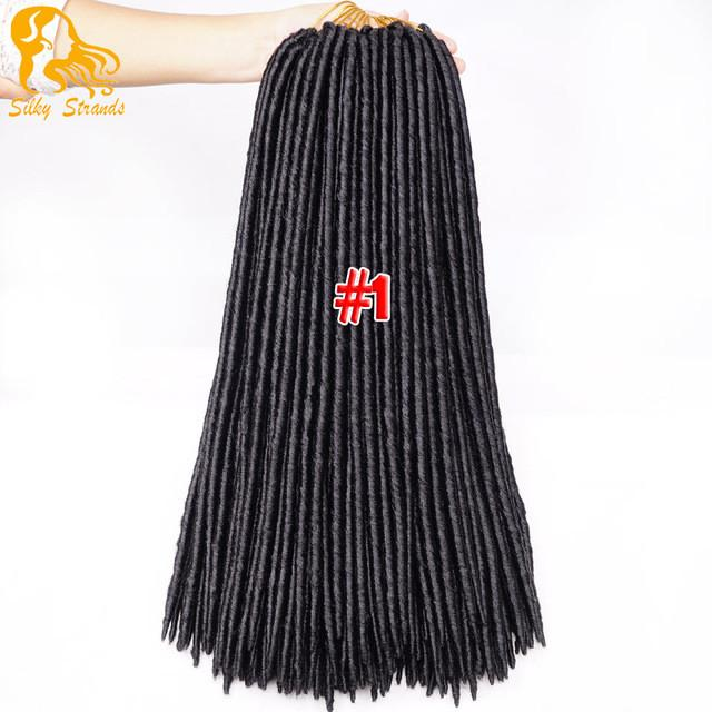 Faux Locs Goddess Hair Braid Extensions