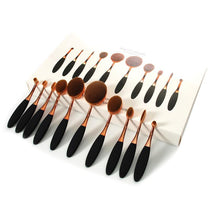 10Pc Makeup Brush Tool Set