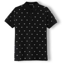 Men's Short Sleeve Printed Polo Tees