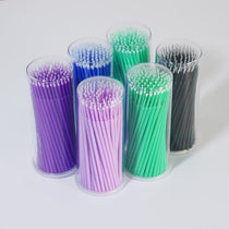100Pc Hot Lint Disposable Makeup Brushes