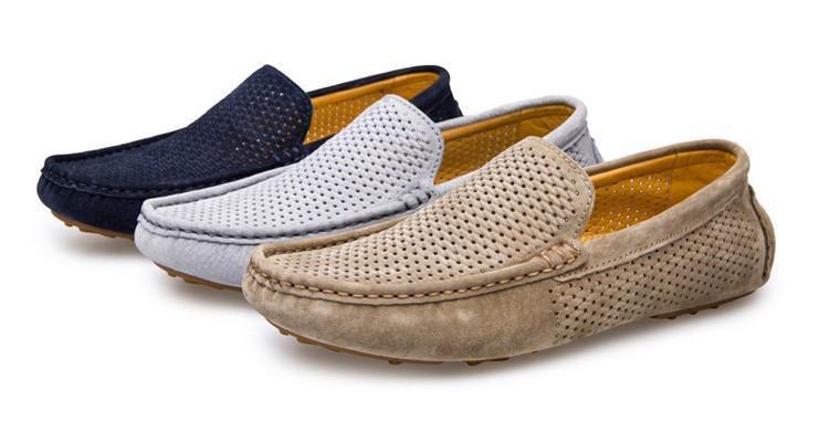 Classic Men's Suede Loafers