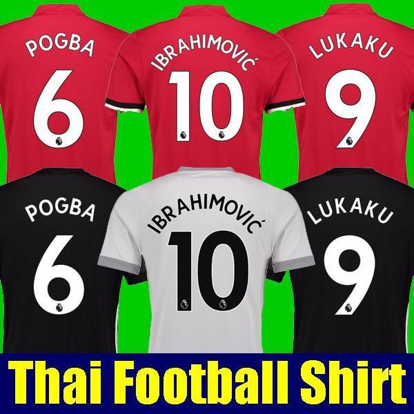 2017 Manchester United Football T-Shirts