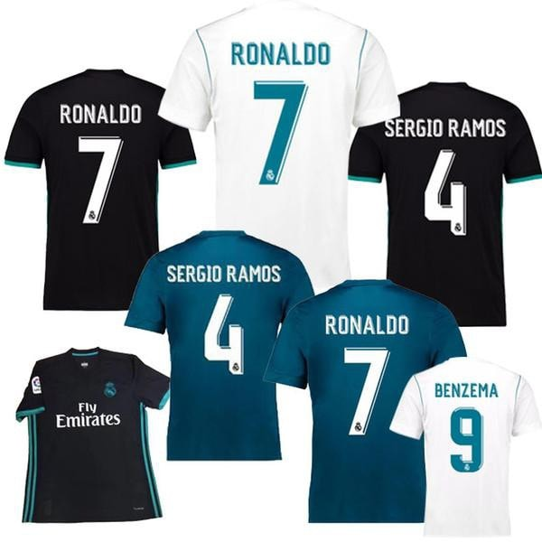 2017 Real Madrid Home & Away Jerseys
