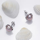 8 mm Pearl Earrings