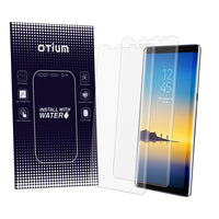 Galaxy Note 8 Screen Protector (Case Friendly)(2-Pack), Otium Liquid-Skin Full Coverage Screen Protector for Galaxy Note 8 HD Clear Anti-Bubble Film