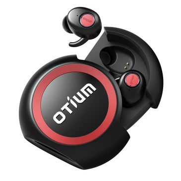 True Wireless Earbuds, Otium Soar TWS Bluetooth In-Ear Headphones with Charging Case/Built-in Mic/Deep Bass Sound/Sweat Proof for Running Sport, Business and Relaxation