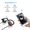 Bluetooth Headphones, Otium IPX7 Wireless Running Headphones w/Mic HD Stereo Sound Waterproof Sweatproof Sports Gym Workout Earphones 8 Hour Battery Noise Cancelling Earbuds