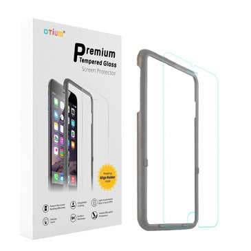 iPhone 6s Plus Screen Protector (5.5 inches only), Otium Tempered Glass Screen Protector with Applicator HD Oleophobic Anti Scratch Anti Fingerprint Round Edge Ultra Clear for iPhone 6 Plus / 6s Plus