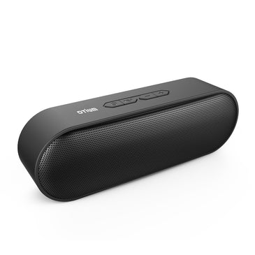 Otium Portable Bluetooth Speakers V4.2 Wireless Stereo Speaker with HD Audio and Enhanced Bass,Built-In Dual Driver Speakerphone,Handsfree Calling,FM Radio and TF Card Slot