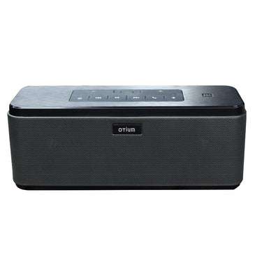 Otium Bluetooth Speaker with 12-Hour Playtime,33-Foot Bluetooth Range & Built-in Mic, Dual-Driver Portable Wireless Speaker with Low Harmonic Distortion and Superior Sound