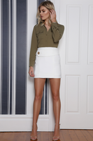Acute Skirt White by Runaway