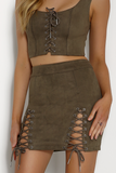 Bromley Mini Skirt by Runaway