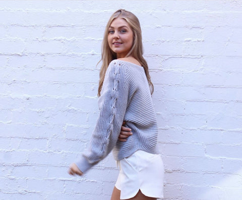 Willa Knit- Grey