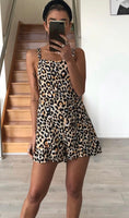 Leopard Playsuit