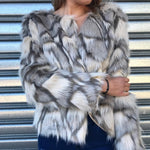 Royal Faux Fur Jacket