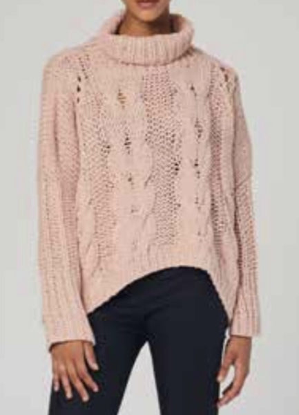 CARA CROPPED CABLE KNIT