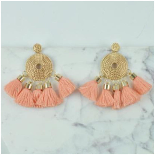 Diva Tassel Earrings