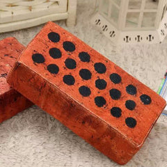 Red Brick Pillow - Novelty Home Store