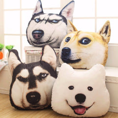 Puppy Dog Head Pillow - Novelty Home Store