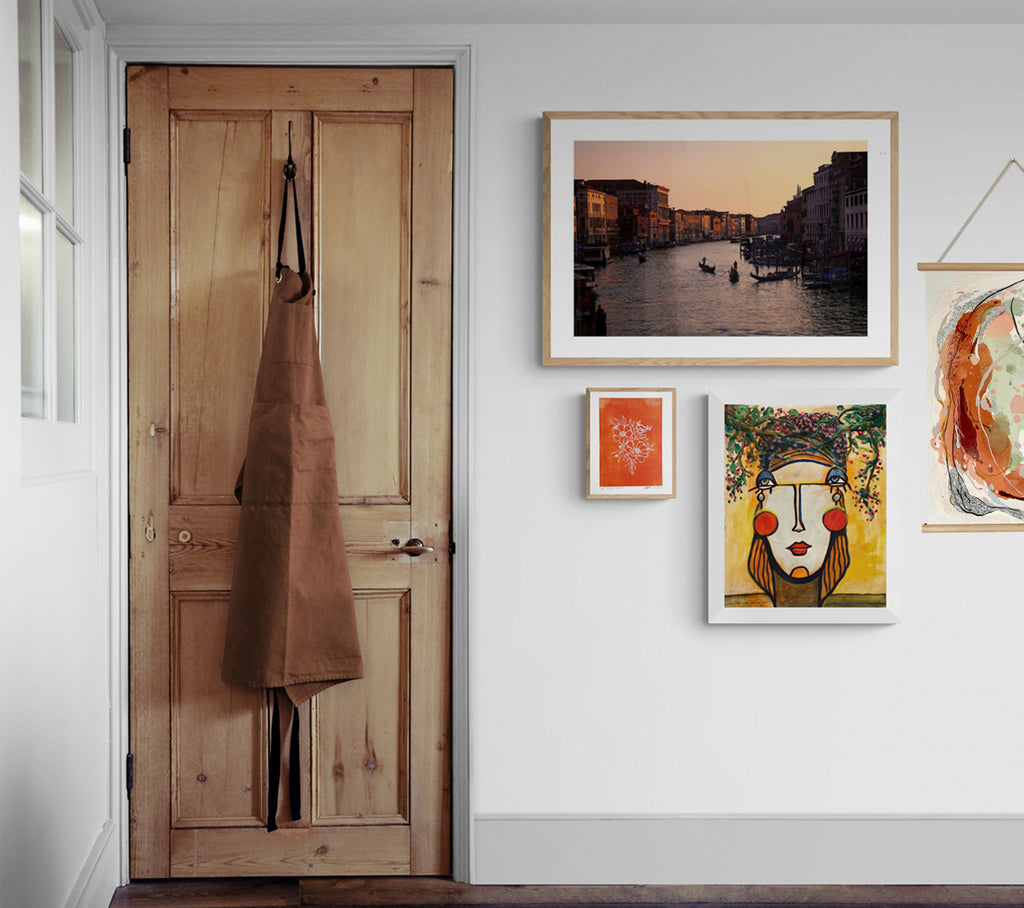 Gallery Wall Variety Of Artworks Only Limited NZ