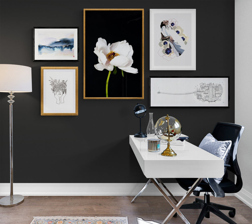 Gallery Wall Variety of Frames Only Limited New Zealand