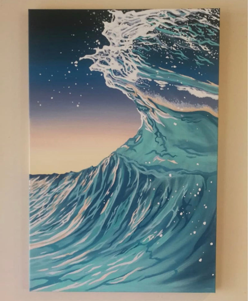 """Energetic Surf Flow"""