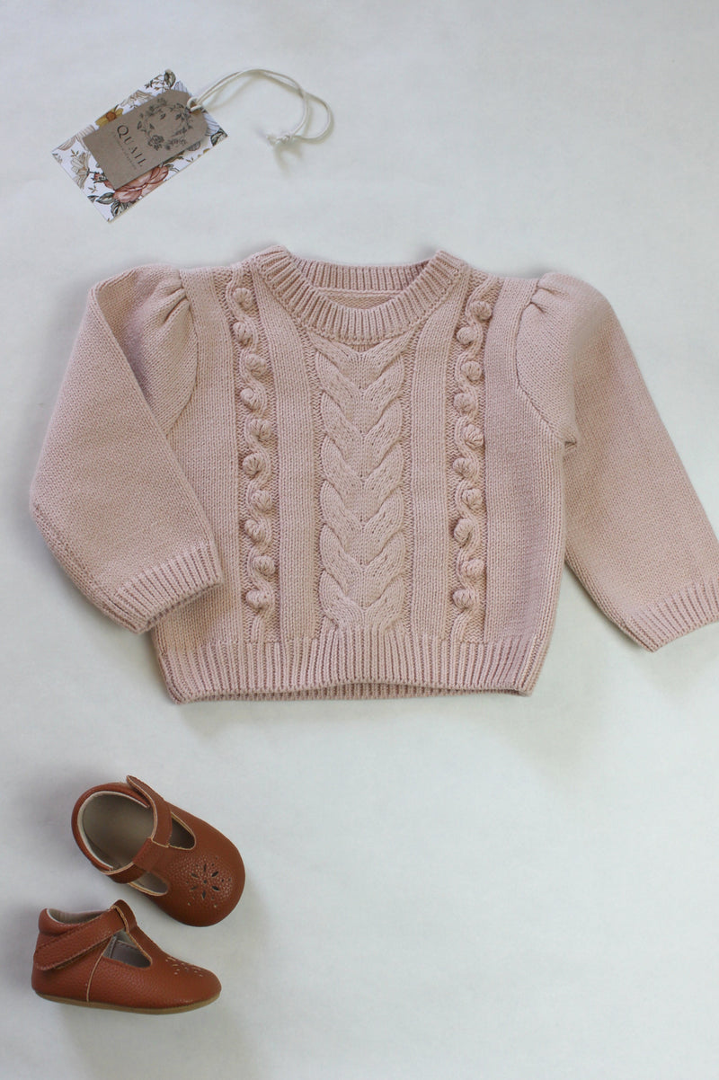 Cable Knit Jersey