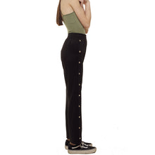 Black Stretch Trousers - krawaii.com