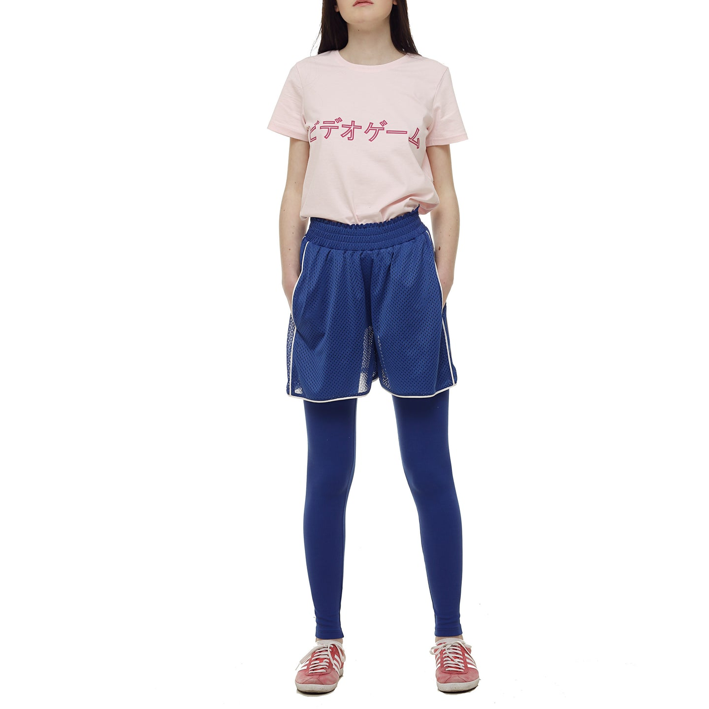Blue Short for workout - krawaii.com