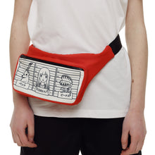 Red Waist Bag - krawaii.com