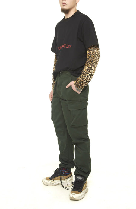 Mens Khaki Trooper Trouser - krawaii.com