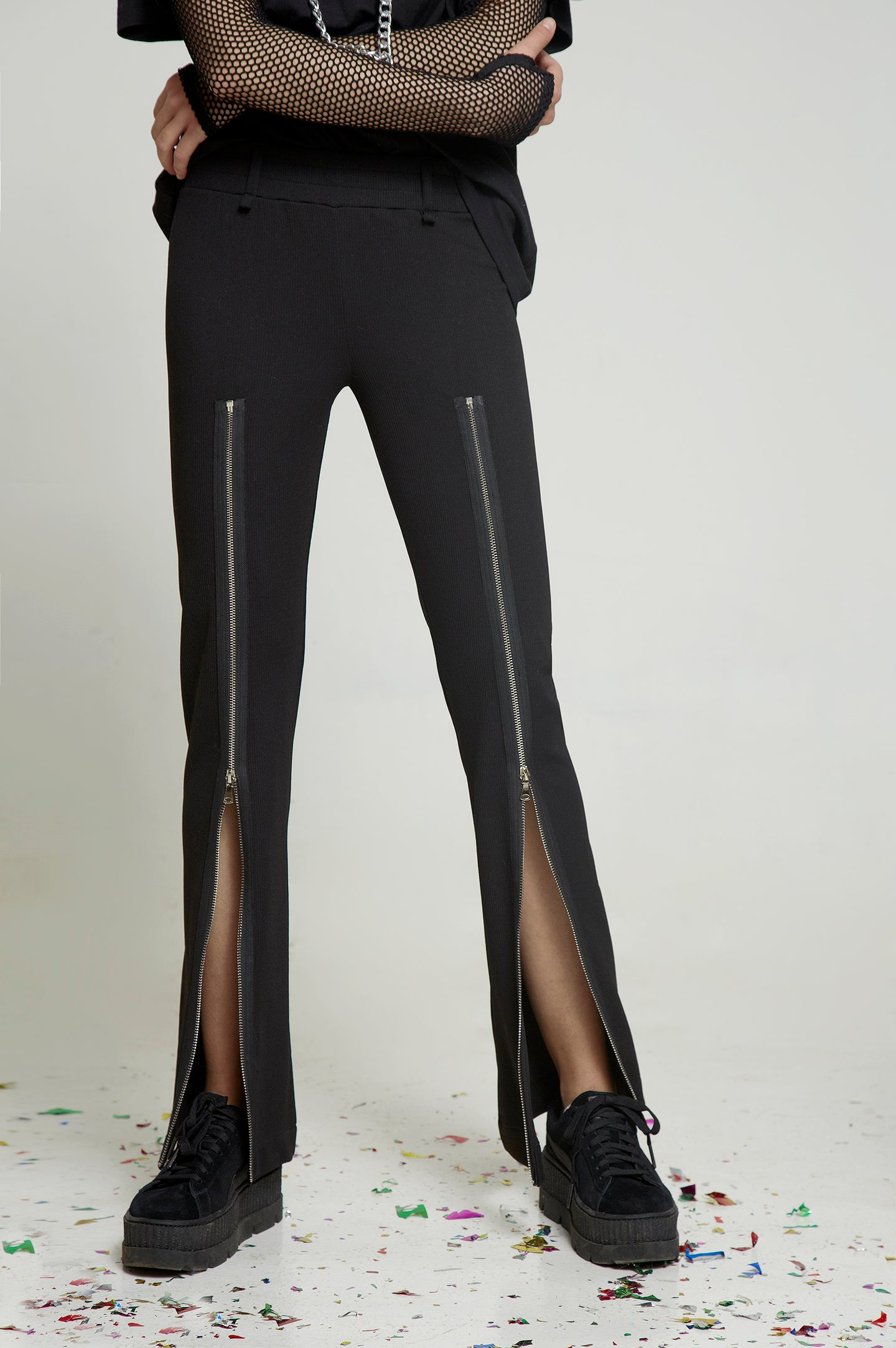 Zip Trousers - krawaii.com