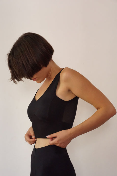 Black Crop Top - krawaii.com