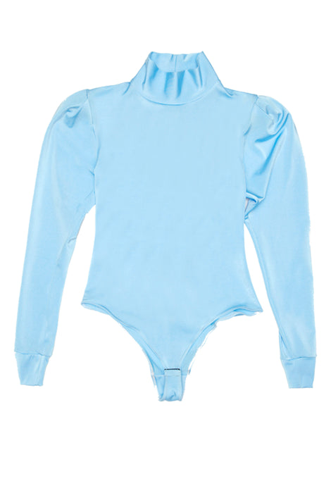 Long Sleeve Turtle Neck Bodysuit - krawaii.com