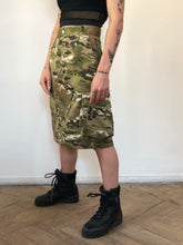 Military Print Skirt With Side Pocket - krawaii.com