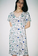 White Dress Floral - krawaii.com