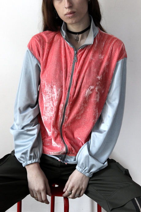 Pink Jacket with Silver Hands - krawaii.com