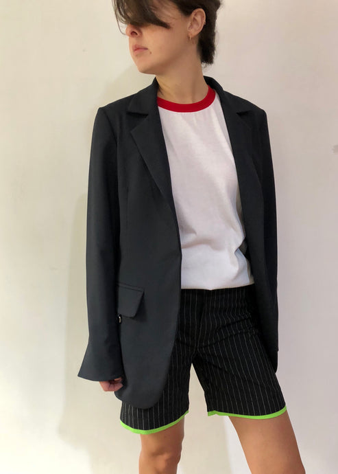 Blazer with pockets - krawaii.com