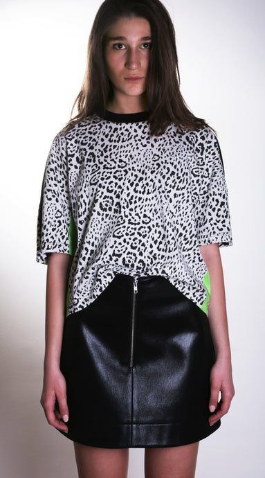 Leopard Print Top - krawaii.com
