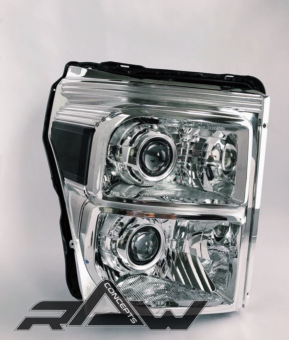 Quad 6.7 Superduty Retrofit Headlights