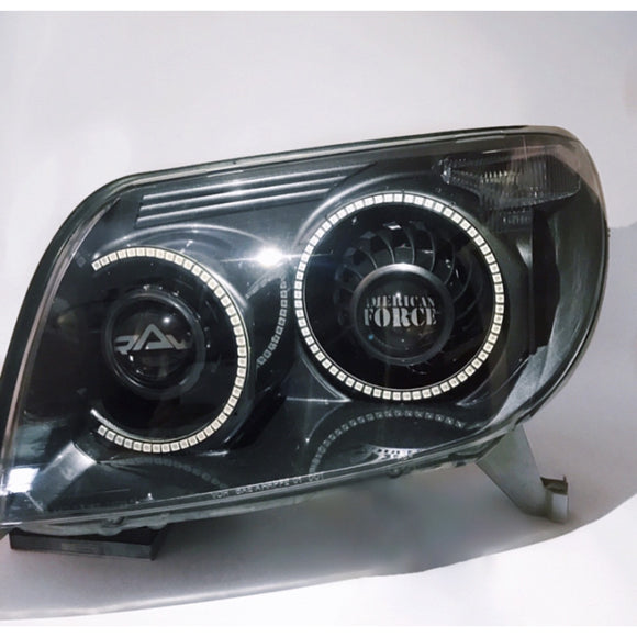 03-05 4runner Custom Quad Headlights