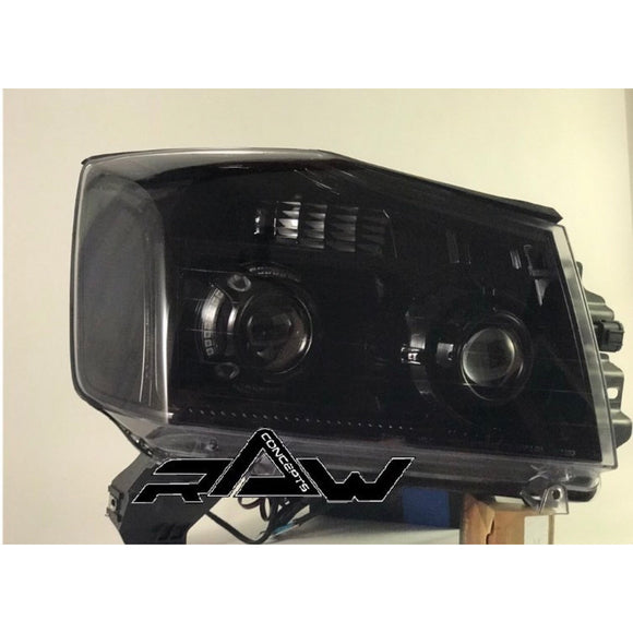 04-16 Nissan Titan Custom Headlights