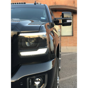 15+ Denali HD Custom Headlights