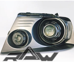 04-08 Ford F-150 Custom Quad Headlights