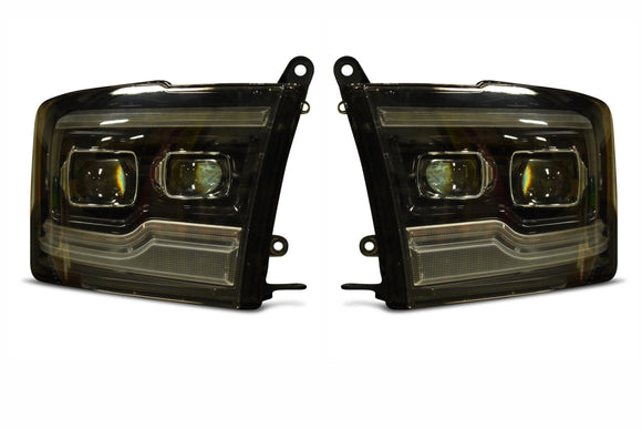 Dodge Ram 09-18 XB LED Headlights