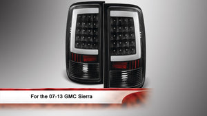 07-13 GMC Sierra LED Tail Lights