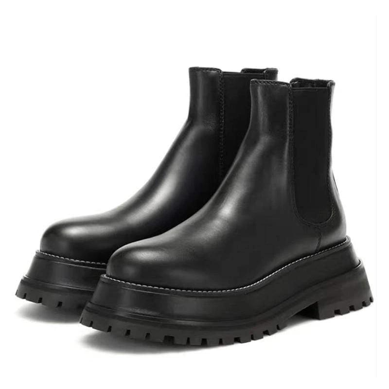 Arka Leather Boots