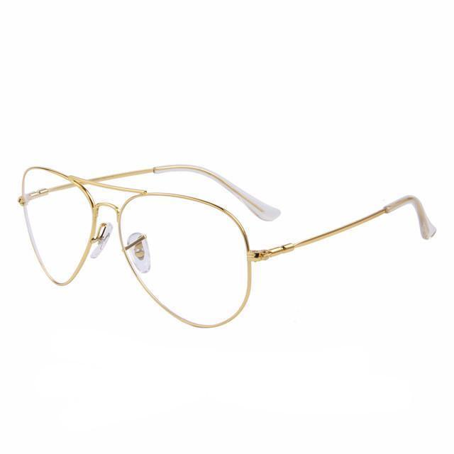 Woman's Glasses Aviatore Clear Glasses at $31.99