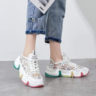 Woman's Sneakers Daphne Light Sneakers at $75.00