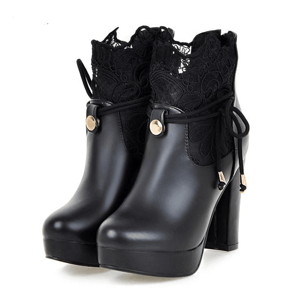 Woman's Ankle Boots Duchess Boots at $75.00
